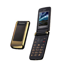 2017 New Newmind V518 Women Flip Phone With Double Dual Screen Camera MP3 MP4 Dual Sim Card 2.4 inch Luxury Cheap Phone(China)