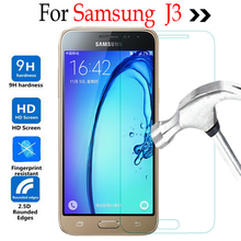 For Samsung Galaxy J3 Tempered glass Screen Protector Cover On Samsung J3 J3110 J3119 J300 J3109 Protective Film Case