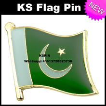 Pakistan flag pin lapel pin badge 10pcs a lot free shipping