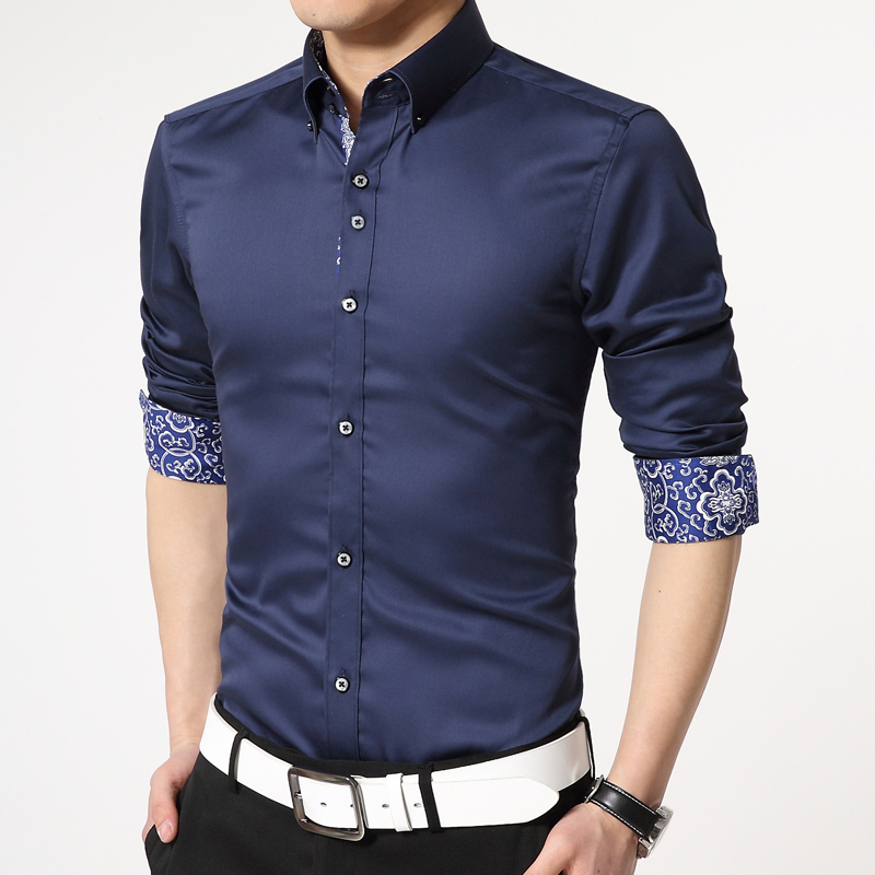 Anti wrinkle cotton mercerized men iron business s...