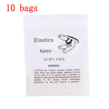 "10 bags Compact Dental Elastic Rubber Bands 3/16"" Orthodontic Braces Bands 3.5 OZ Easy"