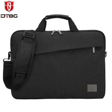 DTBG Laptop Handbag 13.3 15.6 inch Briefcase Tote for Men Waterproof Laptop Bag Sleeve for Macbook DELL HP Nylon Shoulder Bags(China)