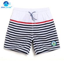 GL brand new striped boys shorts hot summer boy beach surf shorts Kids trousers childrens quick dry sea holiday swim shorts