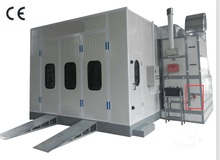 China Car Paint Room Baking Spray Booth With Two Options: Diesel heating And Electric Heating