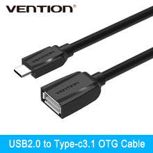 Vention High Speed Usb2.0 Type-c OTG Adapter Type-c To Female OTG Cable Data Sync Charger For Macbook Xiaomi 4c Oneplus 2.