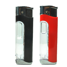 Funny Plastic Electric Shocking Lighter Simulation Tricks Toys Disposable(China)
