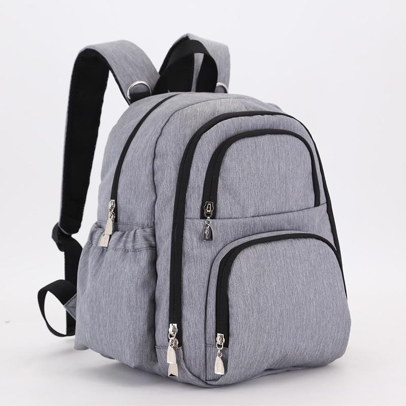 4 Colors Mummy Maternity Nappy Bag Multifunction Large Capacity Handbag Hobos Backpack<br>