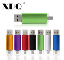 Colorful OTG waterproof Metal usb flash drive 32GB 64GB 128GB pendrive 8GB 16GB memory flash stick usb stick for Android phones