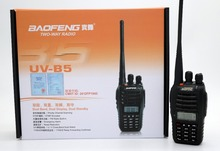 2pcs BaoFeng UV-B5 Walkie Talkie UHF VHF Dual Band UVB5 CB Radio 99CH  Dual Display FM Transceiver Radio for hunting travel