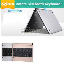 Gold/Black colors Fashion Bluetooth Keyboard case For Apple iPad Pro 9.7/iPad Air2/Ipad Air 2 can print local language