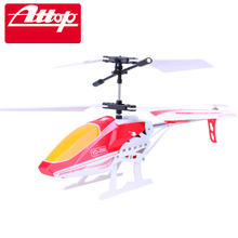 Attop YD-218 Children RC Helicopter Toys Electric Quadcopter 3.5CH Gyro Remote Control Plane Cool Design Crash Resistant Gifts#N