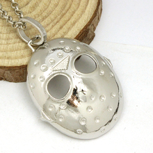 2016 Movie Series America Horror Film Friday The 13th Black Friday Hockey Killer Jason Mask Chain Necklace Men Jewelry
