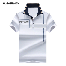 Brand Name 2017 Summer New Men's Casual Short-sleeved POLO Shirt Fashion Printing Business Polo Shirt Brand Clothes(China)