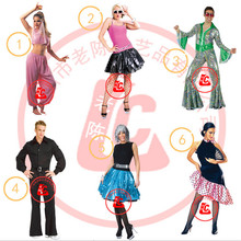 Sexy Adult Women Arabic Dance Fancy Dress Belly Dancer Male dancer cosplay costumes 2016 new Aladdin Princess Costume Halloween