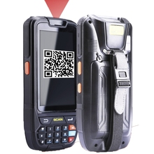 4 inch android 5.1 Industrial Rugged Handheld Data Collector Wireless 4G Mobile Data Terminal 2D Laser Barcode Scanner(China)