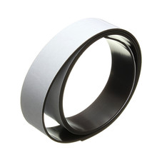 1 Meter 25mm Width 1.5mm Thickness Self Adhesive Flexible Soft Rubber Magnetic Tape Magnet DIY Craft Strip Can be Bent Folded(China)