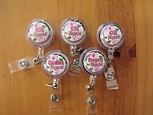 ER, OR, Surgery Nurse Retractable Reel Badge Lanyard Clip Scrubs(China)