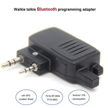 Walkie Talkie Wireless Bluetooth Programming Adapter Connector Baofeng Radio UV-5R BF-777S/888S Apple Android Smartphone
