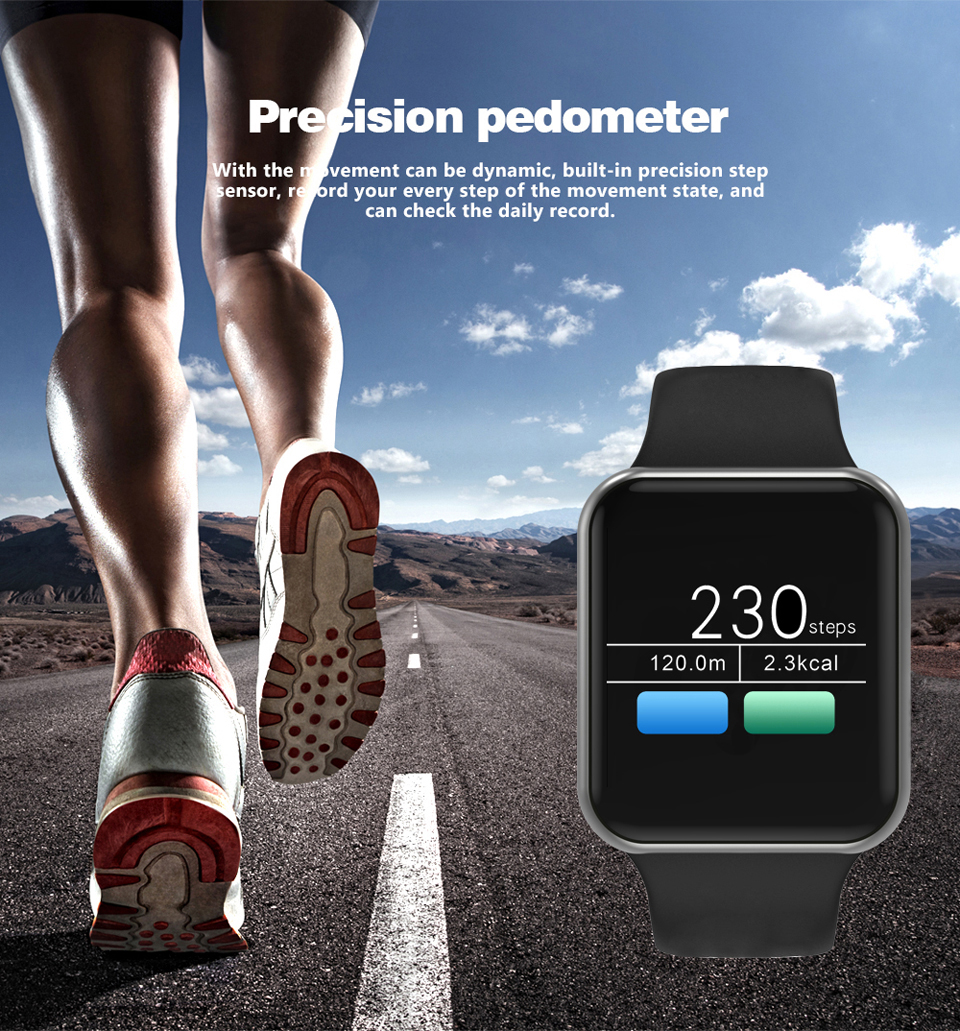 SHAOLIN Bluetooth Smart Watch Heart Rate Monitor Smartwatch Wearable Devices for apple watch iPhone IOS and Android Smartphones-07