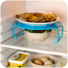 Multifunction Microwave Oven Shelf Double Insulated Heating Tray Rack Bowls Layered Holder Organizer Tool Kitchen Accessories(China)