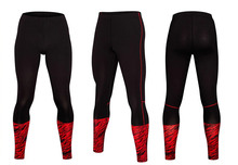 New quick dry top quality long pants men tight soccer pants fitness for men