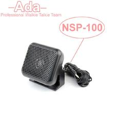 Mini External Speaker NSP-100 For Yaesu For Kenwood For ICOM For Motorola Ham Radio CB Hf Transceiver Walkie Talkie