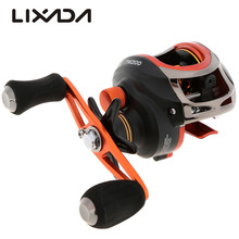 Lixada 11BB Ball Bearings Left/Right Hand Bait Casting Fishing Reel High Speed Fishing Wheel Coils Carretilhas de pesca TW200