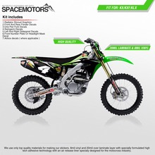 MX 3M Stickers wraps for motorcycle KX KLX KXF F 85 100 250 450 cc 2004 ... 2006 year Motocross Enduro Dirt bike FMX(China)