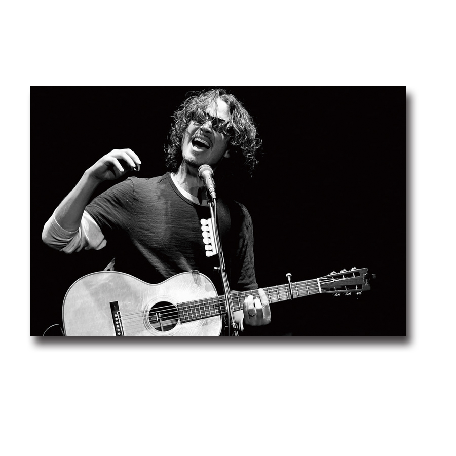 Chris Cornell Soundgarden Singer Music Star New 12x18 24x36 Silk Art Poster F1