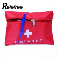 relefree 8pcs First Aid Kit Bag Outdoor Camping Sport Emergency Medical Bag Health care Survival Kit(China)