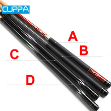 New Cuppa Billiard Pool Cue Stick 13mm/11.5mm/10.5mm Tip China 2017