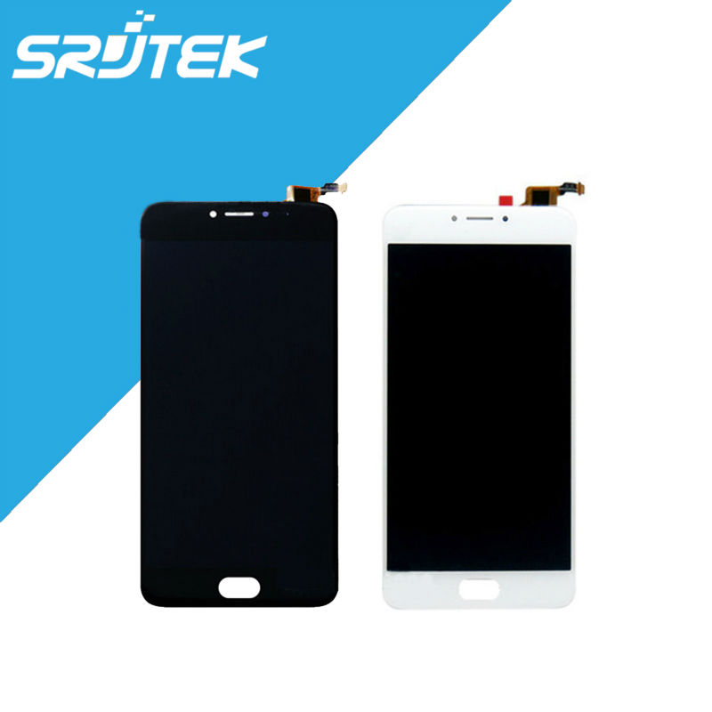 For Meizu L681H Texted 1280x720 LCD Display + Touch Screen Digitizer Full Assembly 5.5 For Meizu M3 Note L681H Black/White<br>