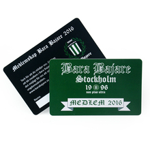 Wholesale custom CMYK plastic pvc business cards(China)