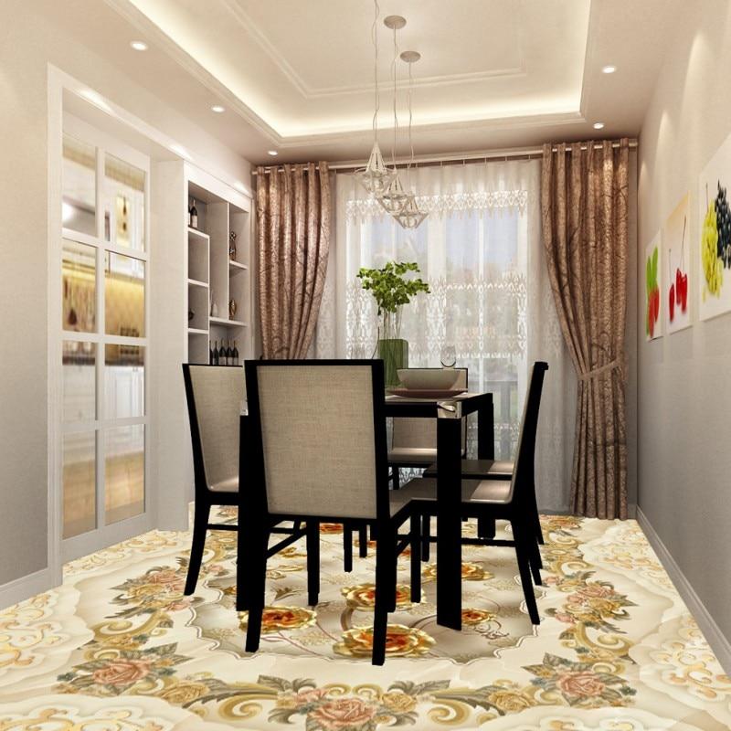 Free Shipping Marble Relief Rosewood Living Room Bedroom 3D Floor custom thickened wear wallpaper moisture muralv<br>
