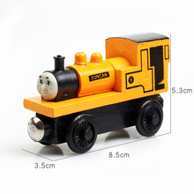 Thomas Children's Toys Thomas And Friends Train Model Car Wooden Magnetic Toy Car And Locomotives(China)