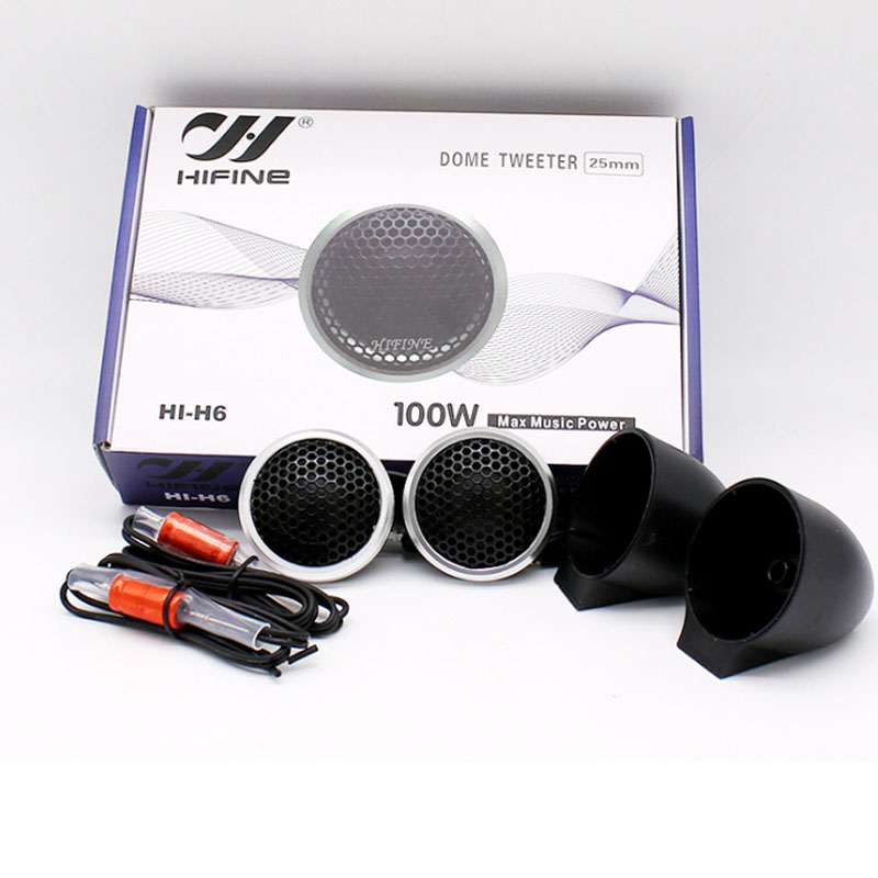 car speaker dome tweeter with capacitor