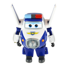 Starz  Super Wings Paul Planes Toy Deformation Airplane Robots Action Figure Boys Birthday Gift Superwings
