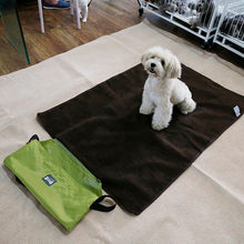 Transer Pet Dog Bed Outdoor Portable Blanket Medium Large Dogs Multicolor Waterproof Travel Blanket 18 Dec25 P45(China)