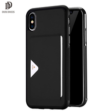 "PU Leather Card Case for iPhone X Wallet Credit Card Slot Back Cover for iPhone X / iPhone 10 5.8"" 2017 Shockproof Phone Cases(China)"