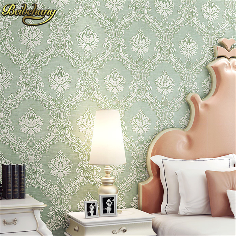 beibehang Luxury papel de parede 3d Wall Paper Roll Europe Vintage Bedroom Wall Decor Papel De Paredes Para mural wallpaper<br>