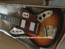 New Arrival Sunburst Jaguar Electric Guitar High Quality OEM Guitars From China(China)