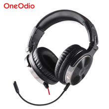 Oneodio Earphone For Phone Gaming Headset with Microphone For Xbox One Gaming Headset PS4 PC Wired Studio DJ Headphone Monitor(China)