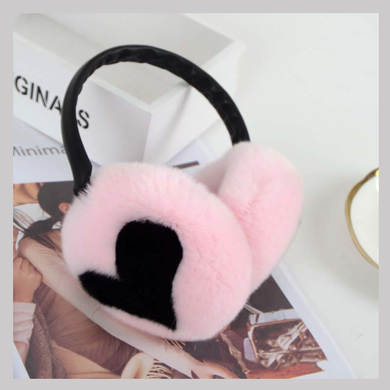 rex rabbit fur earmuff 1