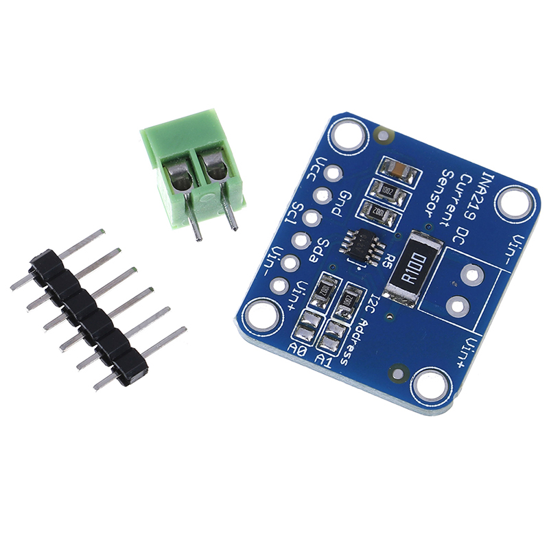 1pc New Hot MCU-219 INA219 I2C Bi-directional DC Current Power Supply Breakout Sensor Module