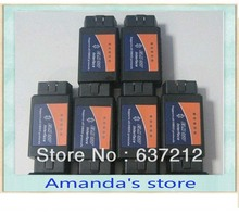 10pcs/lot shipping free for ELM327 bluetooth OBDii OBD2 interface works On Android Torque(China)