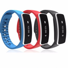 H18 Smart Wristband Pedometer Fitness Band Bluetooth Music Remote Camera Smart Bracelet For iOS Android PK ID107 Mi Band 2(China)