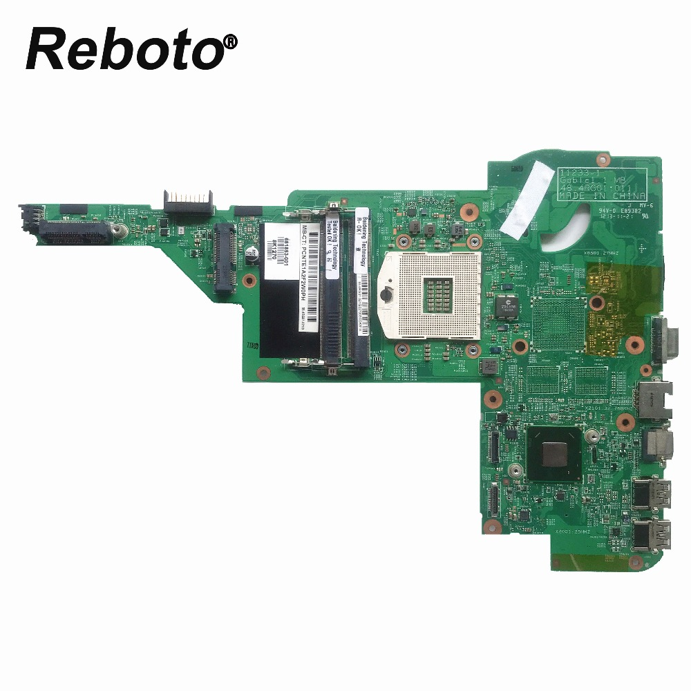 Reboto High quality FOR HP DM4 DM4-3000 Laptop Motherboard 681853-001 48.4RG01.011 HM77 Mainboard 100% Tested Fast Ship