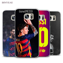 BINYEAE Lionel Messi Soccer Clear Phone Case Cover for Samsung Galaxy Note 2 3 4 5 7 S3 S4 S5 Mini S6 S7 S8 Edge Plus(China)