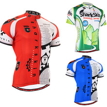 2017 Giant Man Cycling Jersey mens Bike Short Sleeve Sportswear quick dry breathable Cycling Clothing mixed color and size