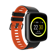 iRULU GV68 Smart Watch IP68 Waterproof Bluetooth Heart Rate Monitor Sport Smartwatch An-ti Lost Wristwatch for Android IOS Phone(China)